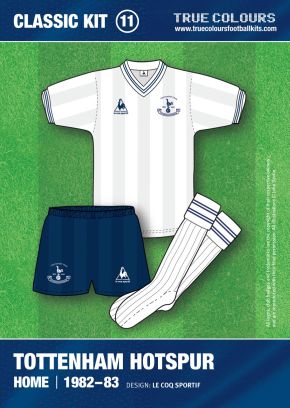 Tottenham 1982-83 Kit