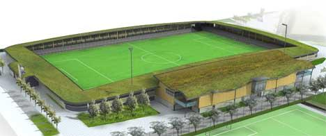 Rendering of Princes Park, Dartmouth