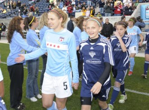Chicago Red Stars meet their fans