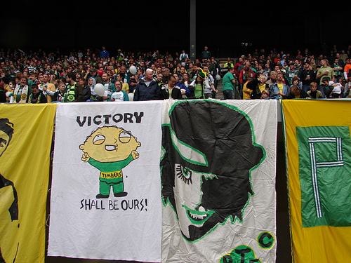 Timbers Army Banners