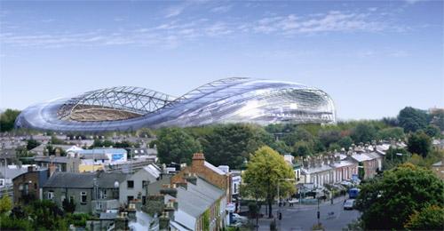 Aviva Stadium rendering