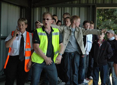 Retford United 1-1 FC United of Manchester. August 22, 2009.