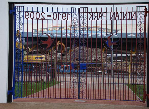 Gates of Ninian Park
