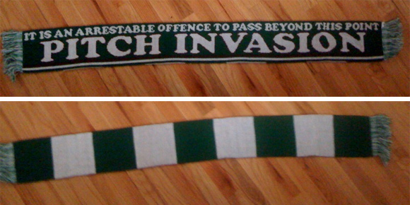 Pitch Invasion Scarves