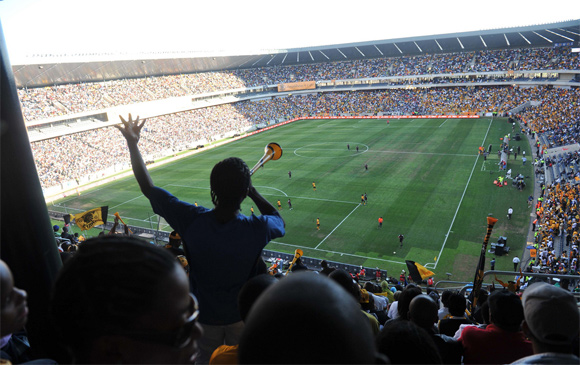 The Kaizer Chiefs and Orlando Pirates face-off in the Soweto Derby. It ended 0-0..
