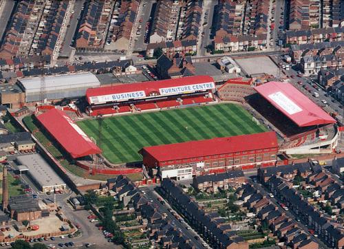 Ayresome Park, Middlesbrough