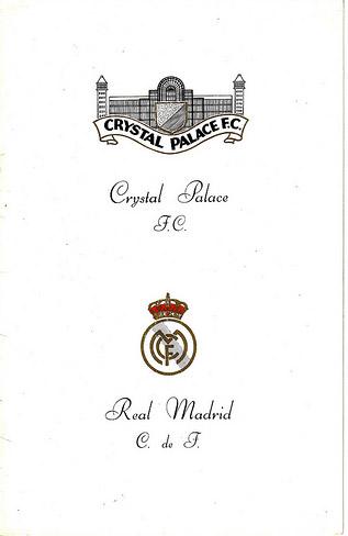 Crystal Palace vs. Real Madrid