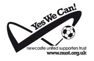 Newcastle United's Trust campaign