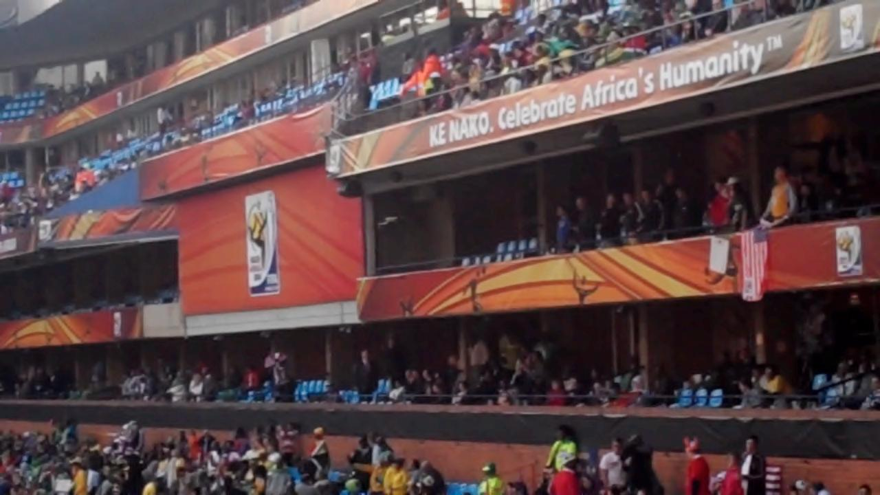 Africa's humanity, FIFA, South Africa, World Cup