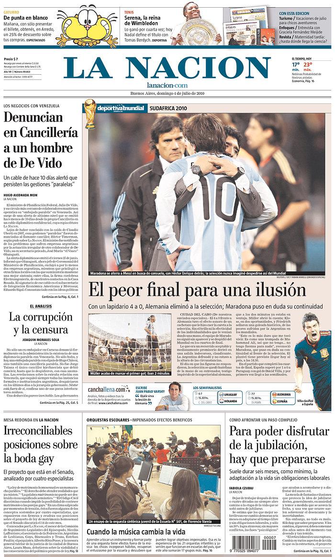 Argentina, World Cup, Maradona, Messi, newspaper