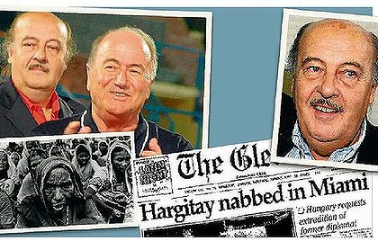 Peter Hargitay, FIFA, FFA, Corruption