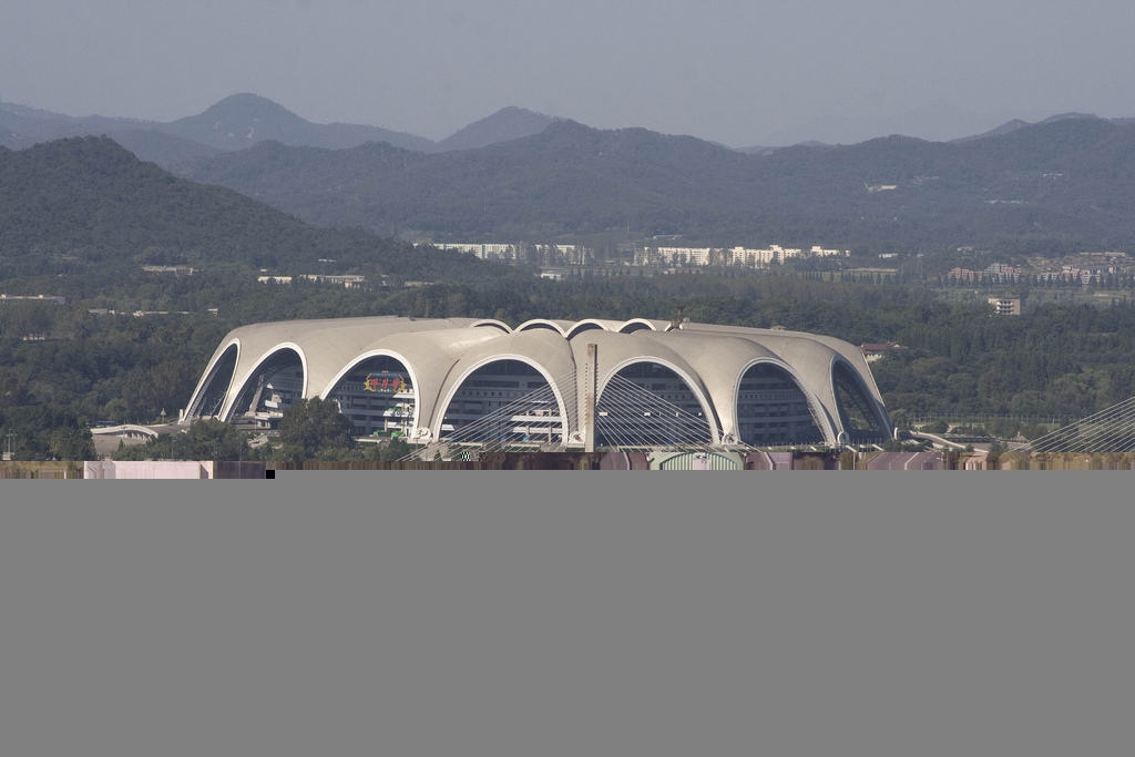 Rŭngrado May First Stadium, Pyongyang, North Korea