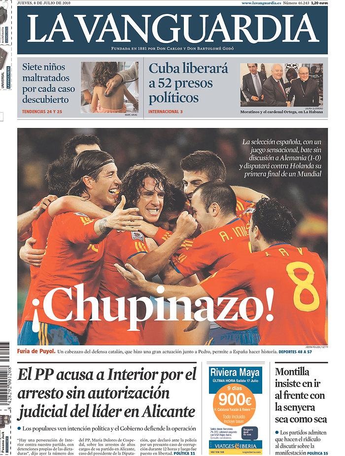 Spain, World Cup final