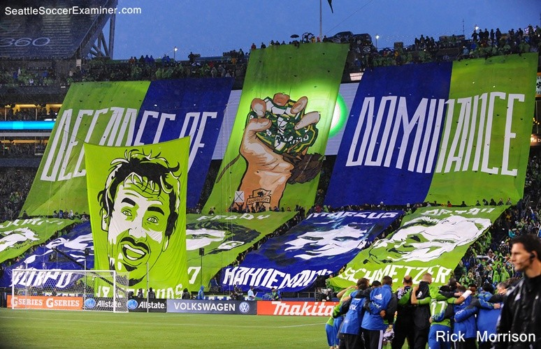 Seattle Sounders tifo - ECS