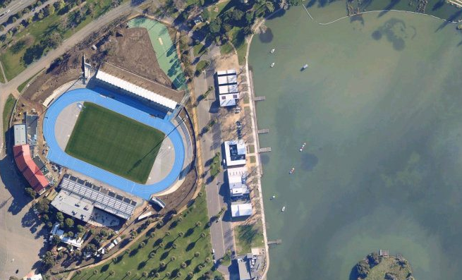 Lakeside Stadium, Melbourne, Aerial Photo