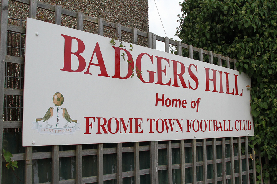 Frome Town FC, Badgers Hill, Frome - September 2011