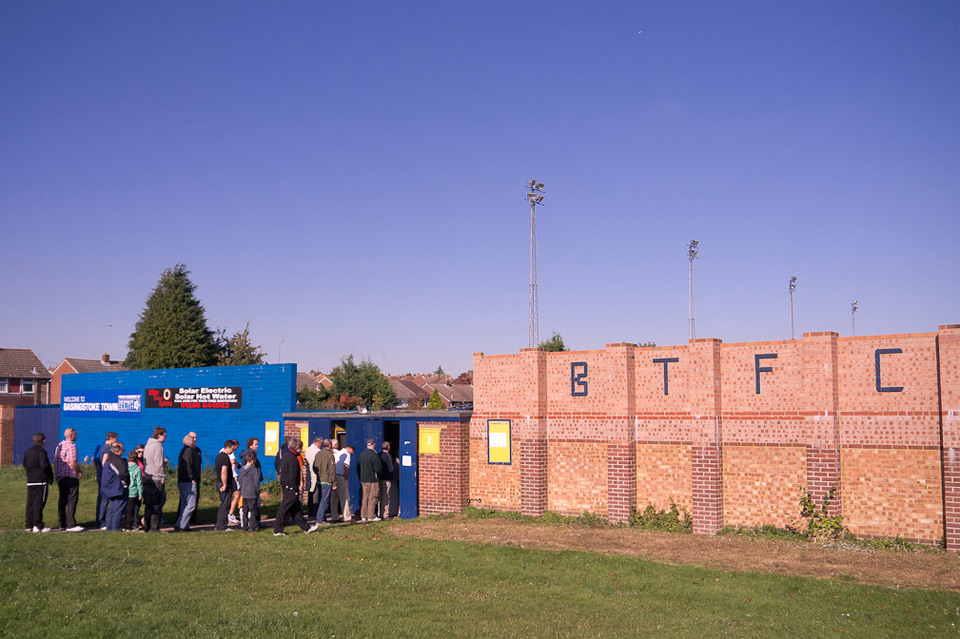 FA Cup 3rd Qualifying Round, Basingstoke Town vs. Hartley Wintney, The Camrose, Basingstoke - October 2011