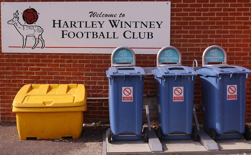 Welcome To Hartlet Wintney vs. Bashley, The Memorial Ground, Hartley Wintney - September 2011