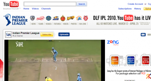 IPL YouTube