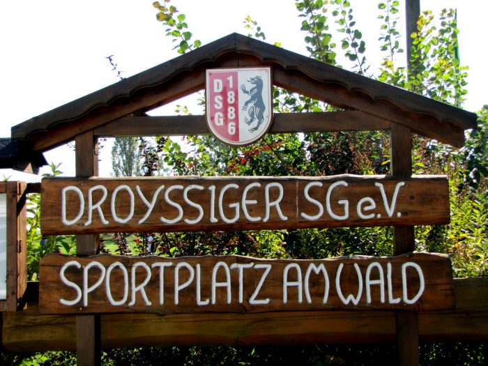 Sportplatz am Wald, Droyßiger SG.