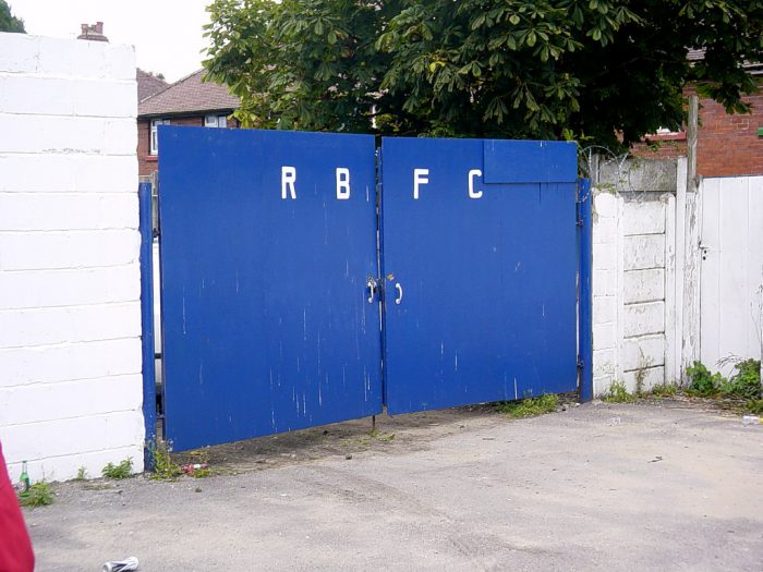 Stainton Park, Radcliffe. The home of Radcliffe Borough FC. Pictured at Castleton Gabriels v FC United of Manchester.