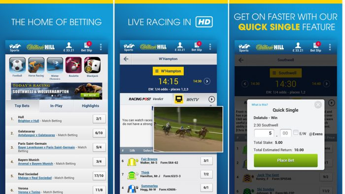 Betting on mobile