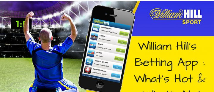 William Hill's Betting app -What's hot & What's not (1)