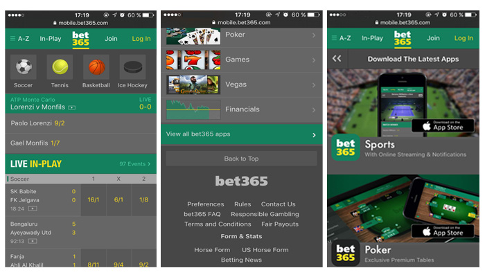 bet365 download app