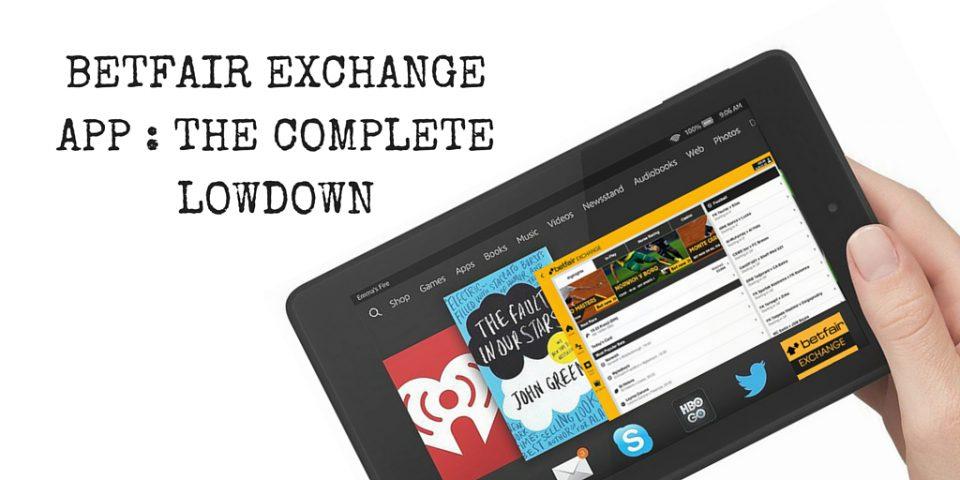 The Betfair Exchange App