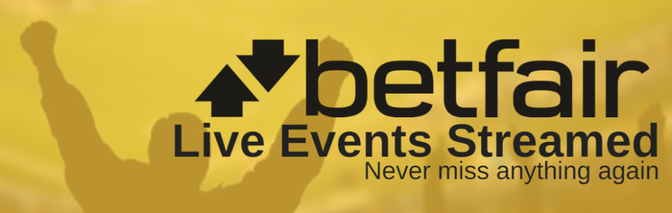betfair live events streamed
