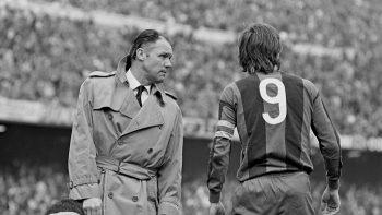 Rinus Michels and Cruyff