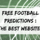 football predictions