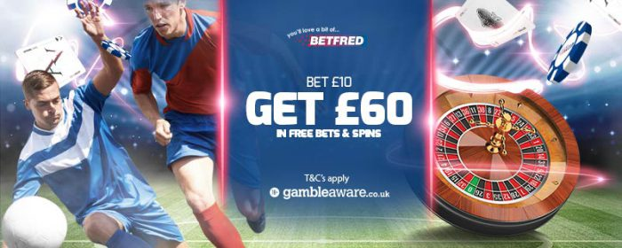 Betfred promo code offer