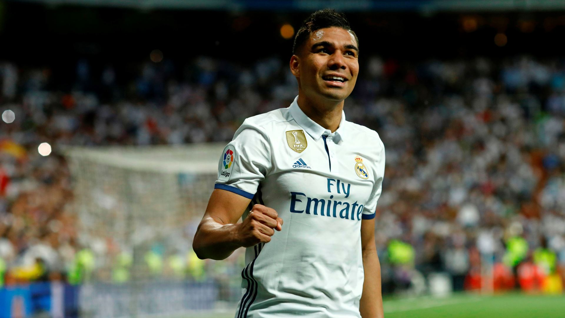 "Casemiro ""There is no B team at Real Madrid"" Pitch Invasion"