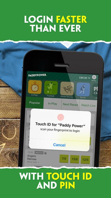 mobile app Paddy Power