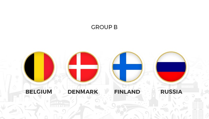 Betting On The Winner Of Group B Euro 2021
