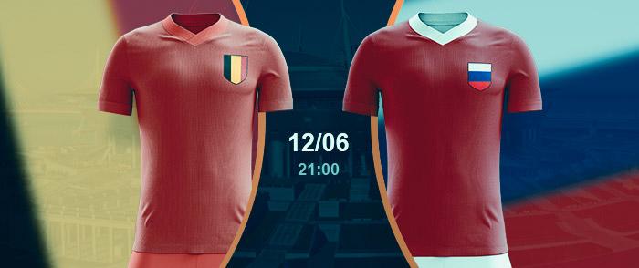 Check here the Belgium vs Russia Betting Odds | Euro 2020