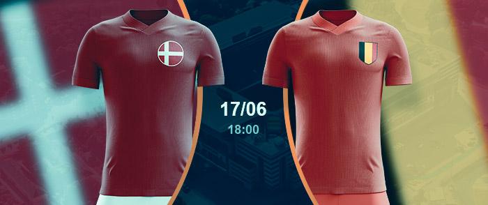Check here the Denmark vs Belgium betting odds | Euro 2020