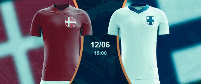 Check here the Denmark vs Finland Odds