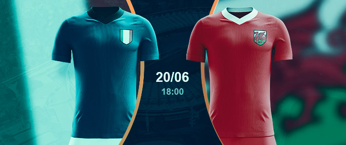 Check here the Italy vs Wales Betting Odds for Euro 2020