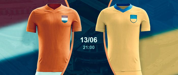 Check here the Netherlands vs Ukraine Betting Odds